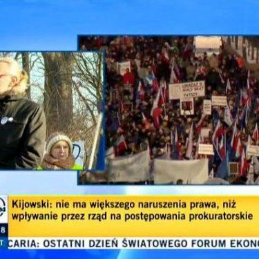 Manifestacje KOD 23.01.2016 - zaczynamy!