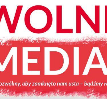 "Pikiety ""Wolne media"" 09.01.2016"