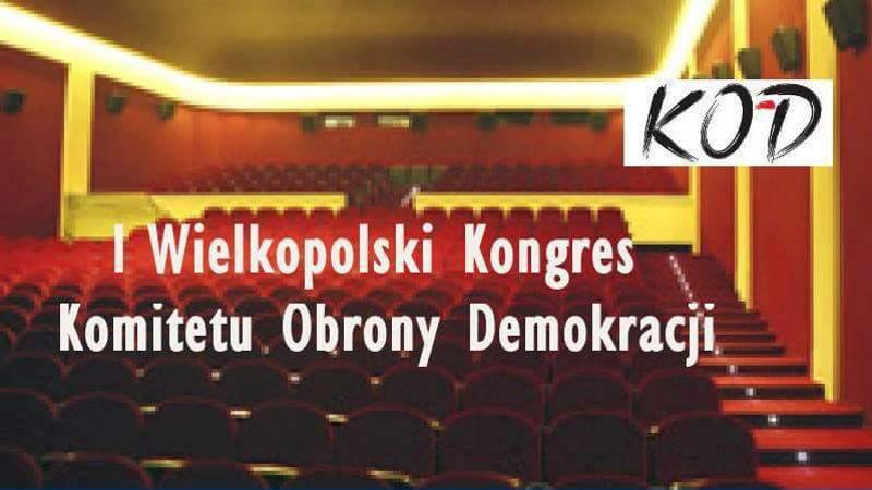 I Kongres Regionu Wielkopolskiego KOD 07.02.2016