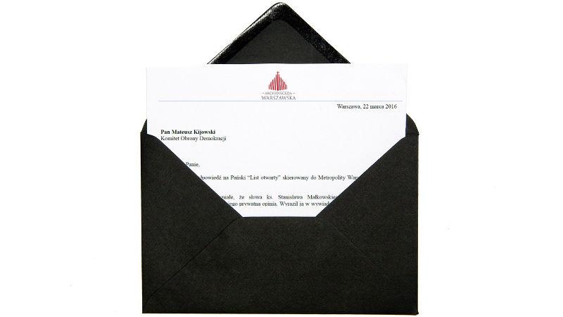 Odpowiedź na list otwarty do abp. Kazimierza Nycza