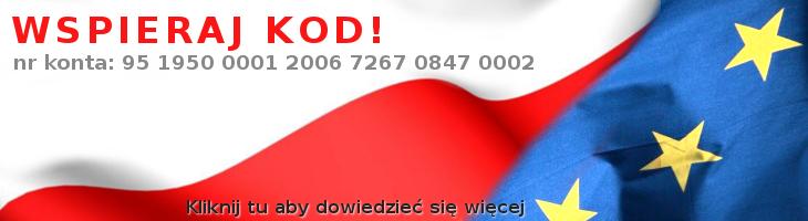 Wspieraj KOD!