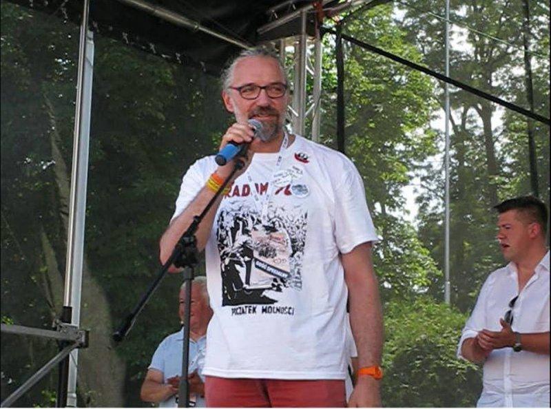 Mateusz Kijowski w Radomiu