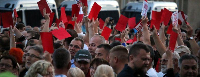 Niespokojny przebieg oficjalnych obchodów Poznańskiego Czerwca'56