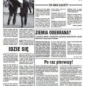 """Pismo KOD Mazwsze """"Obywatel"""" nr 1"""