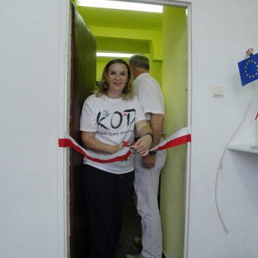 Było uroczyście - otwarcie lokalu grupy KOD_OŚWIĘCIM_CHRZANÓW