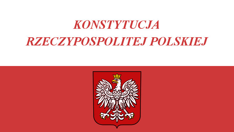 Naszym programem – Konstytucja!