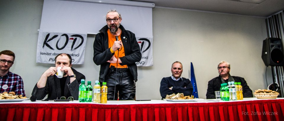 Spotkanie kolegów z KOD Piaseczno