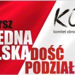 """Marz """"Jedna Polska - dość podziałów"""" 24.09.2016"""