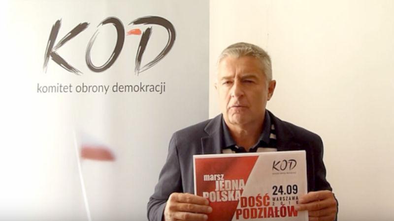 """Marsz """"Jedna Polska – dość podziałów"""" – zaprasza Władysław Frasyniuk"""